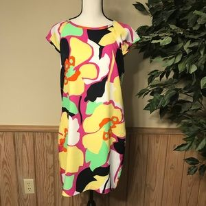 Laundry by shelli segal dress size 6 floral